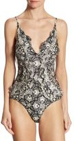 Zimmermann One-Piece Divinity Ruffled Swimsuit