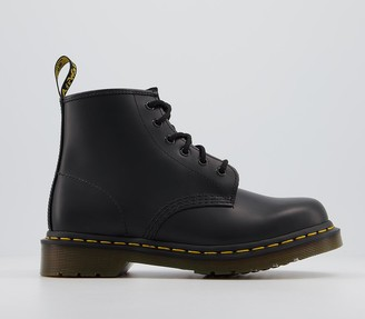 Dr. Martens 101 6 Eye Boots Black Ys