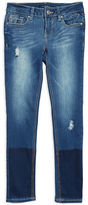 Vigoss Girls 7-16 Distressed Cotton-Blend Jeans