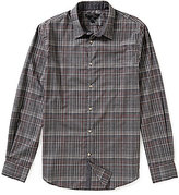 John Varvatos Plaid Long-Sleeve Woven Shirt
