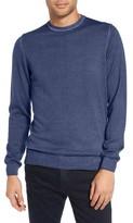Sand Men's V-Neck Merino Wool Sweater