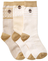Timberland Outdoor Crew Socks - Pack of 3