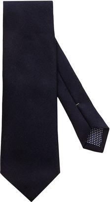 Eton Solid Wool & Silk Tie