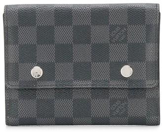 Louis Vuitton 2000s pre-owned Damier card case
