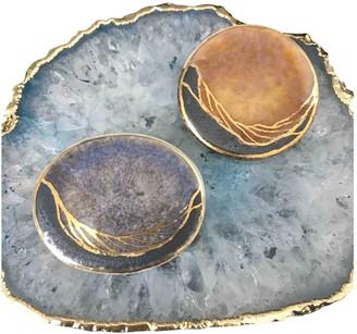 Non Signã© / Unsigned Gold Ceramic Pins & brooches