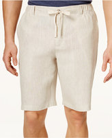Tasso Elba Men's Linen Drawstring Shorts, Only at Macy's