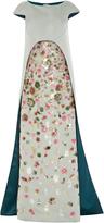 Zac Posen Translucent Garden Gown