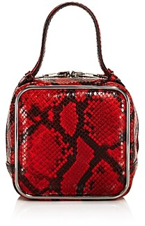 Alexander Wang Halo Snake Print Top Handle Bag