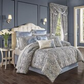 Thumbnail for your product : J Queen New York Alexis 4-Piece Queen Comforter Set in Powder Blue