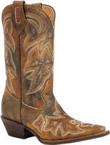 "Rocky Women's 12"" HandHewn Western RW022 - Calico Full Grain Leather Boots"