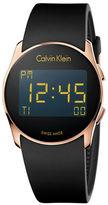 Calvin Klein K5B236D1 Future Digital Rubber Strap Watch