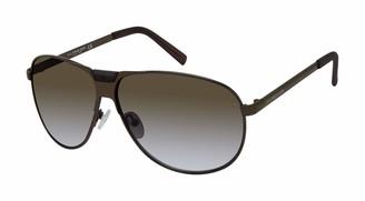 U.S. Polo Assn. Men's PA1001 UV Protective Aviator Sunglasses