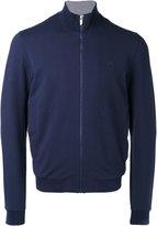 Z Zegna zip-up sweatshirt cardigan - men - Cotton/Spandex/Elastane/Modal - S
