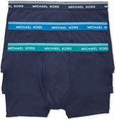 Michael Kors Men's Essentials Cotton Trunks, 3-Pack