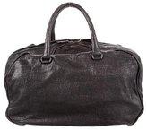 Bottega Veneta Leather Boston Bag