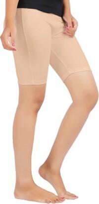 elegance1234 Elegance Ladies Cycling Shorts Lycra Stretchy Cotton Above Knee Active Sport Everyday Short Legging(XXL UK 18 (44)