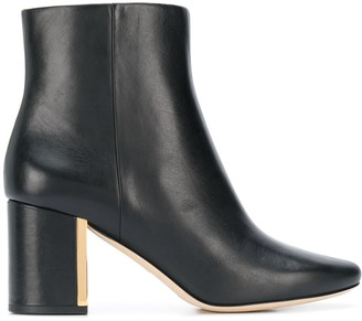 Tory Burch Plaque Heel Boots
