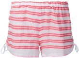Lemlem striped short shorts - women - Cotton/Acrylic - XS