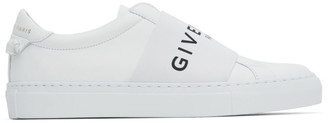 Givenchy White Elastic Urban Knots Sneakers