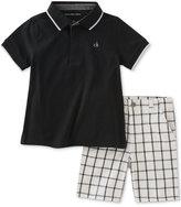 Calvin Klein Cotton Polo & Shorts Set, Toddler & Little Boys (2T-7)