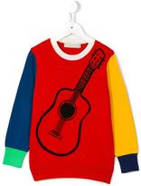Stella McCartney guitar print Lucky jumper