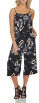 1 STATE Women's 1.state Print Culotte Jumpsuit