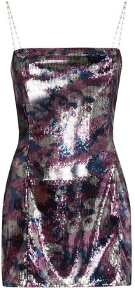 Collina Strada Dolphin Party sequinned mini dress