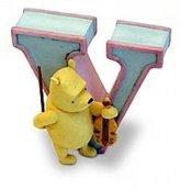 Disney Pooh's Alphabet Letter V
