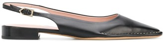 Tod's Slingback Leather Pumps