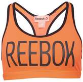 Reebok Womens Hero Racer Sports Bra Top Peach