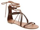 Revel Women's Revel Ghillie Gladiator Sandals
