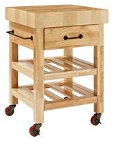 Crosley Marston Butcher Block Kitchen Cart Wood/Natural