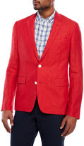 English Laundry Red Linen Sport Coat
