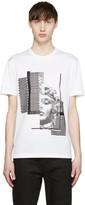 Versace White Sequinned Medusa T-Shirt
