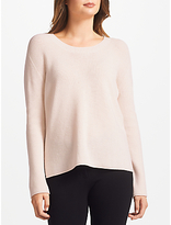 Marc Cain Wool Rib Knitted Jumper, Blush