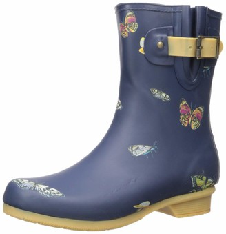 Chooka Women's Mid-Height Printed Rain Boot Calf