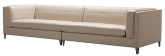 """Orren Ellis Roshni 119.25"""" Square Arm Sofa"""