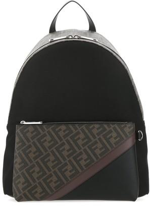 Fendi FF Monogram Diagonal Printed Backpack