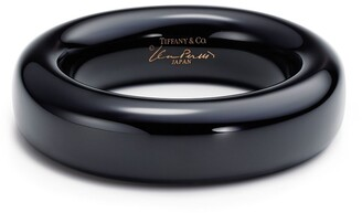 Tiffany & Co. Elsa Peretti bangle in black lacquer over Japanese hardwood, small