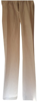 Burberry Other Linen Trousers