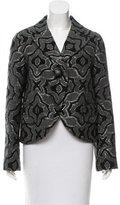 Marc Jacobs Brocade Wool-Blend Blazer