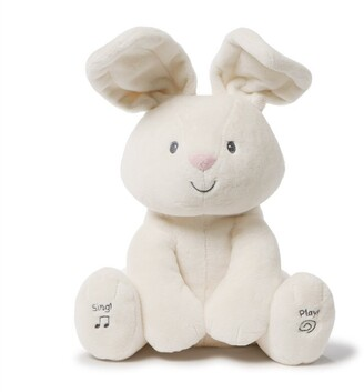 "Gund Baby Flora The Bunny Animated Plush Stuffed Animal Toy, Cream, 12"""