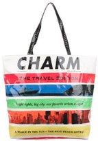 Kate Spade Charm Travel Edition Magazine Bon Shopper Tote