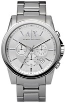 Armani Exchange Round Chronograph Watch, 45mm