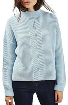 Topshop Women's Ribbed Sweater