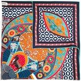 Salvatore Ferragamo silk road print scarf