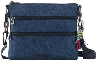 The Sak 1108778IND Artist Circle Zip Top Crossbody Bag