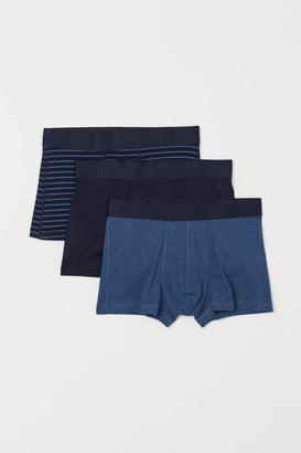 H&M 3-pack COOLMAX Boxer Shorts - Blue