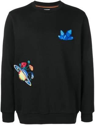 Paul Smith Explorer embroidered sweatshirt