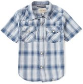 Lucky Brand Little Boys 4-7 Western Plaid Shirt